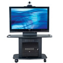 "32""H Metal Flatscreen Cart w/TT-1 for up to 55"" LCD"