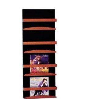 4 Pocket Wallmount Magazine Rack