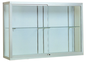 "48""w x 48""h x 16""d Champion 1200 Wall Mount Display Case"