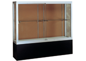 "48""w x 66""h Challenger Display Case w/Black Base"