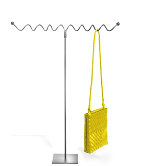 Aaron Contemporary Raw Steel - Purse Displayer