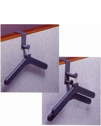 Coat Hanger For Cubicle Wall 1 Hook Grey