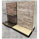 Slatwall & Decorative Panel Inserts for Lozier Shelving Fixtures