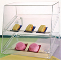 Acrylic Food Display Cases & Bins