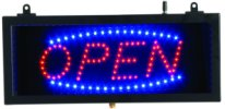 OPEN - Small LED Indoor Sign