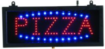 PIZZA - Small LED Indoor Sign