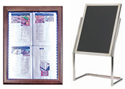 Restaurant & Hospitality Display Sign Stands
