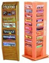Wood Brochure Racks
