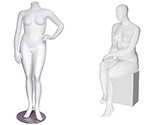 Female Plus Size Mannequins