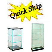 All Glass Display Cases