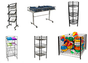 Dump Tables & Wire Bin Displays