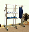 Ladder Style Clothing Displays