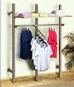 Slotted Clothing Display System