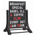 Frameless Plastic Sidewalk Changeable Letterboard Sign