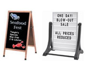 A Frame Sidewalk Sign Boards