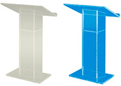 Large Top Acrylic Lecterns