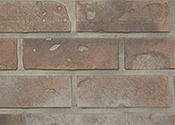 "45""L x 5.75""H x 3/8"" Ultra Thin Textured Shiplap Wall Panel w/Tape - Brick Sandstone Finish - Set of 9 Planks"