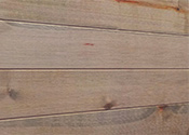 "47""L x 5.75""H x 1/4"" Ultra Thin Textured Shiplap Wall Panel w/Tape - Driftwood Finish - Set of 12 Planks"