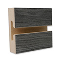 Pewter Pine Thermo-fused Laminate