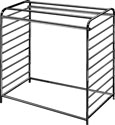 Double Center Floor Rack - Black