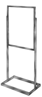 "22""w x 28""h Sign Holder - Chrome"