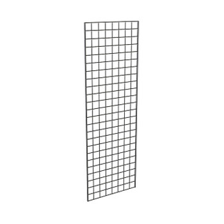 "Black 24"" x 72"" Grid Panel - Box of 3"