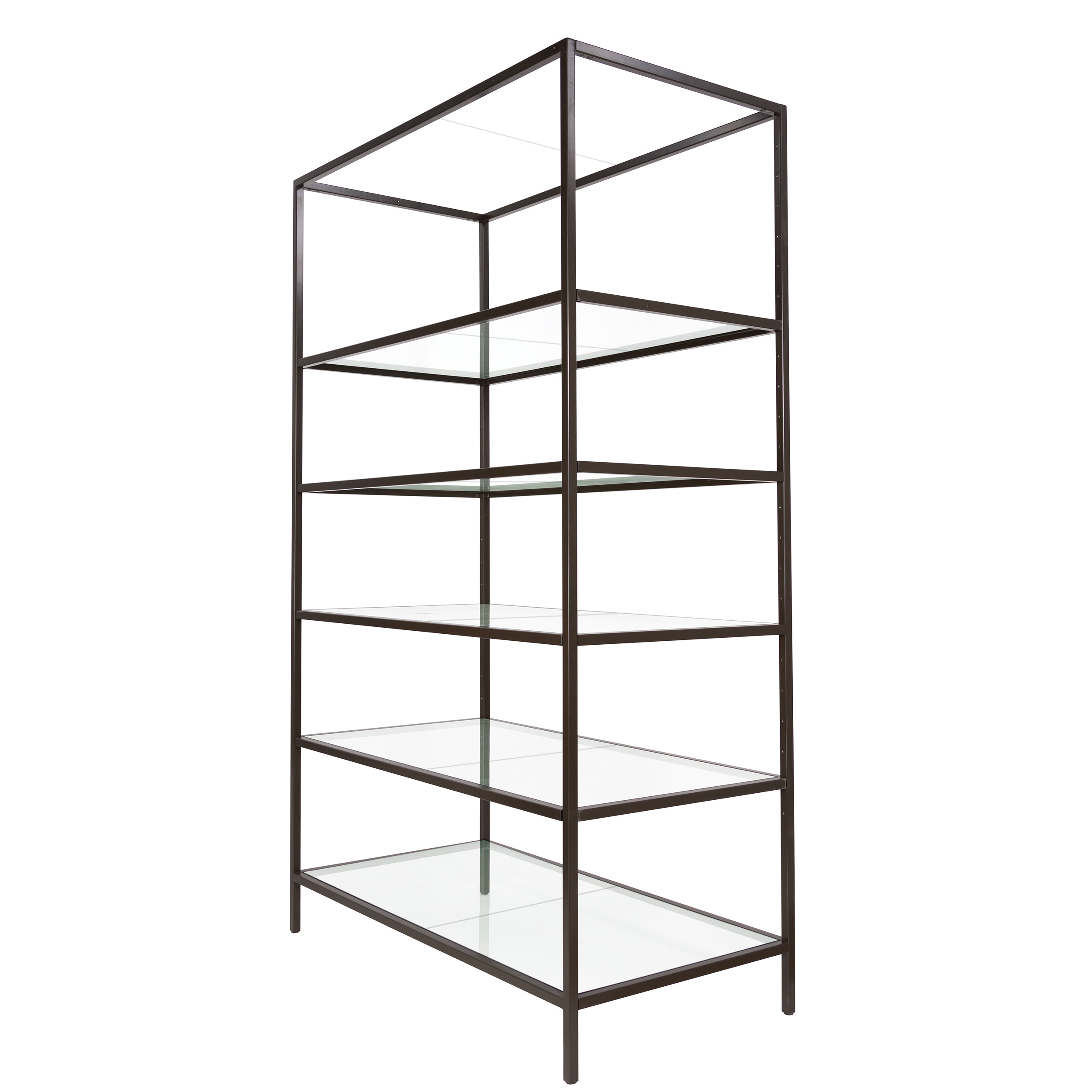 Linea Glass Shelf for Freestanding Merchandising Unit