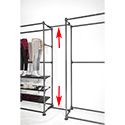 "Pipeline 24"" Extension Kit for Free Standing Wall Unit"