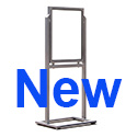 "22"" x 28"" Heavy Duty Outdoor Sign Holder Stand"