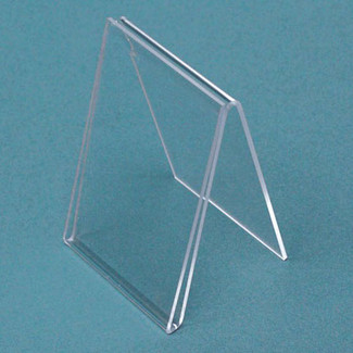 "5""H x 7""W Single Sided Acrylic Tent Sign Holder"