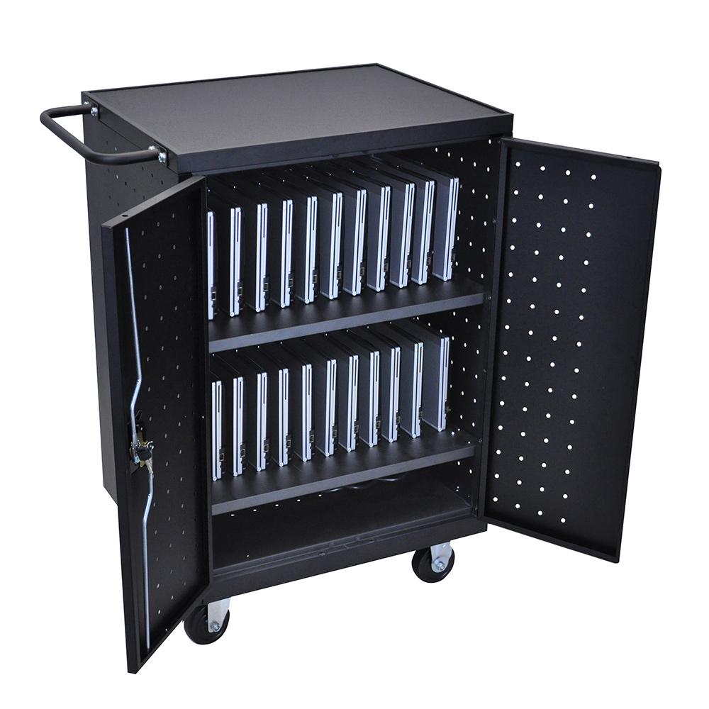 24 Laptop Chromebook Computer Charging Cart