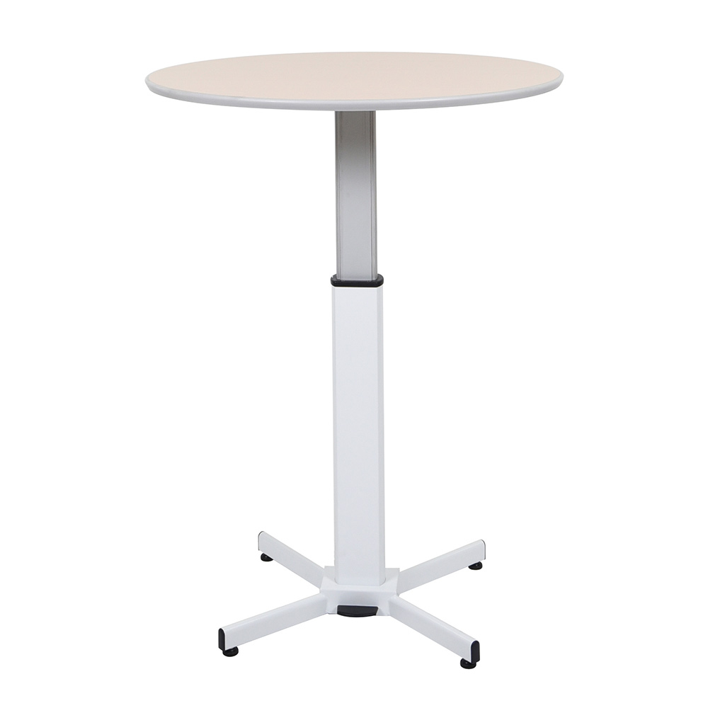 Pneumatic Adjustable Round Pedestal Table Lectern