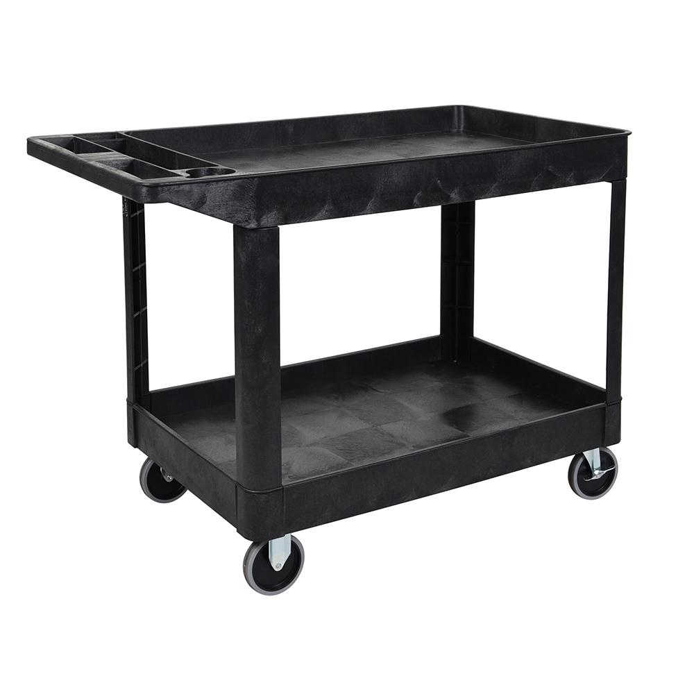 Two Shelf Heavy Duty Utility Cart