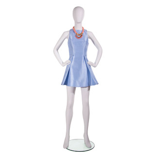 Ready to Wear Female Mannequin - w/Oval Head,  True White