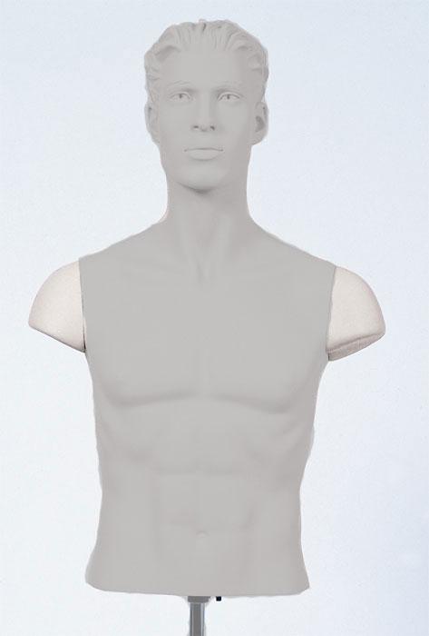 Male Shoulder Caps Set White