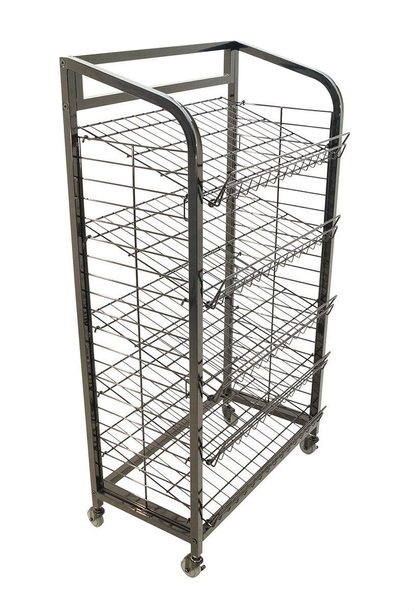 sc 1 st  Allen Display & 5 Shelf Wire Display Rack With 26