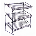 3 Shelf Wire Counter Display Rack