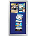 Outdoor Felt Enclosed Bulletin Boards