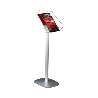 "Decorative Brochure Stand 8.5"" x 11"" Paper Area, Portrait"