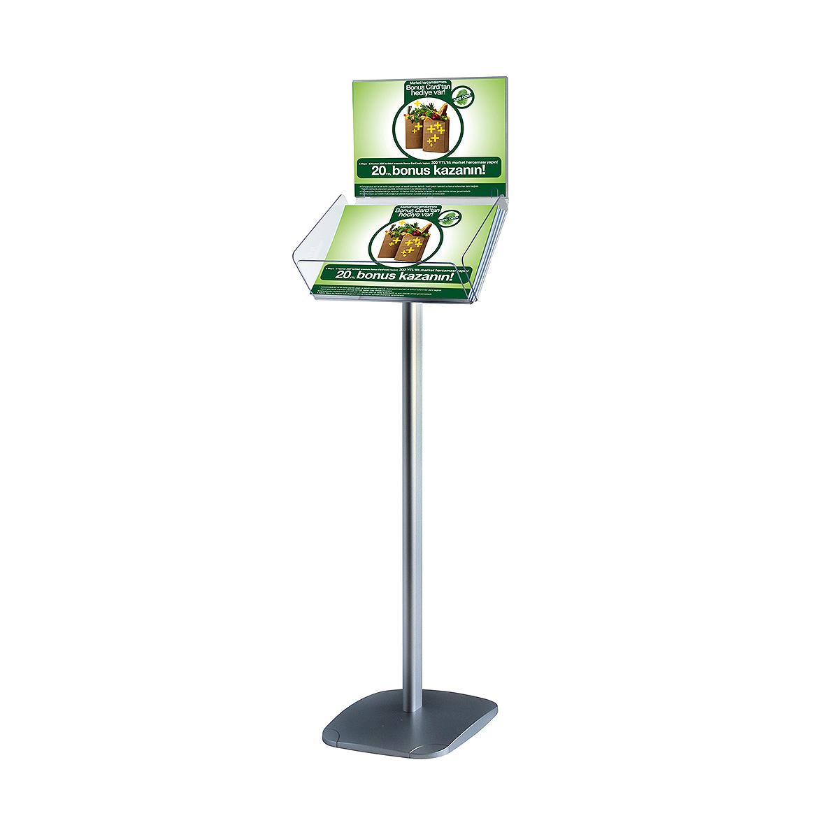 Decorative Brochure Stand Plus 8 5 Quot X 11 Quot Paper Area