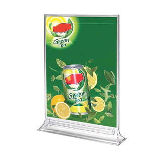 "5""w x 7""h Acrylic Upright Leaflet & Sign Holder"