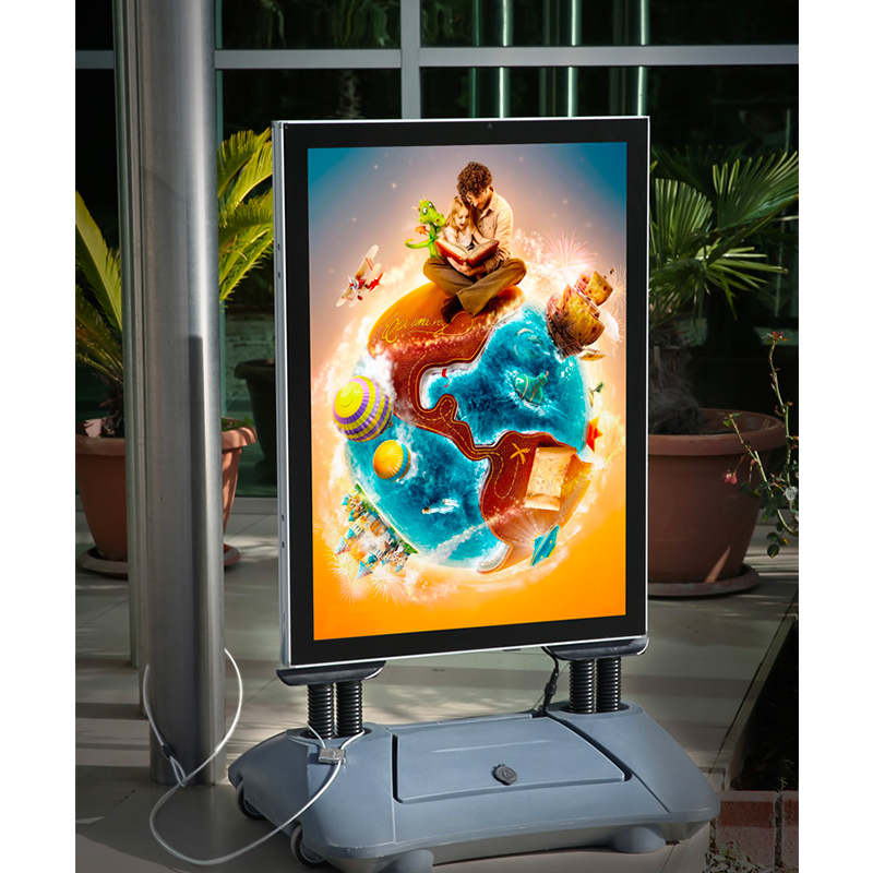 Led Illuminated Windpro Outdoor Sign Stand 23 38 Quot X 33 11 Quot