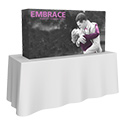 Embrace 2X1 Tabletop Pop Up Display w/Full Fitted Tension Fabric Graphic