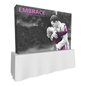 Embrace 3X2 Tabletop Pop Up Display w/Full Fitted Tension Fabric Graphic