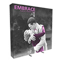 Embrace 3X3 Full Height Pop Up Display w/Full Fitted Tension Fabric Graphic