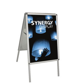 Double Sided Aluminum A-Frame Sidewalk Sign Stand