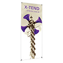 "23.63""W X-TEND 1 Banner Stand Single Sided"