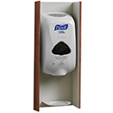 Wall Mount Sanitizer Housing and Drip Dish