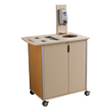 Mobile Infection Prevention Cart