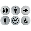 Washroom Sign Mixed 6 pack